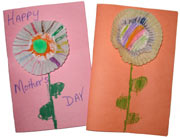 Mother's Day Card - Paper cup flower