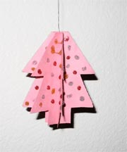 paper ornament - Christmas tree