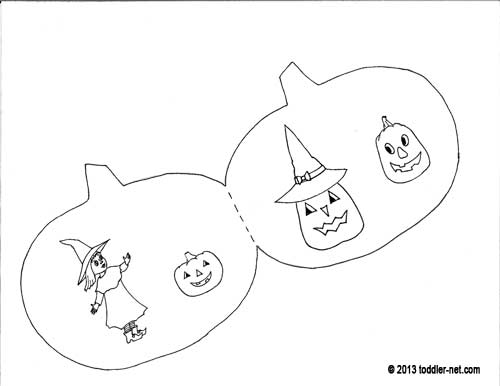 Halloween Coloring Pages For Book