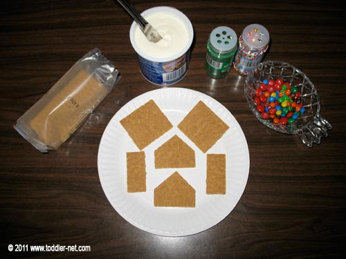 how to make small gingerbread house