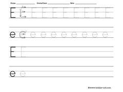 letter worksheets for tracing and writing. Black Bedroom Furniture Sets. Home Design Ideas