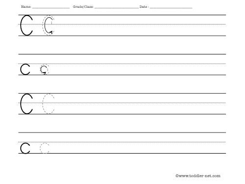 Number Names Worksheets writting worksheets : Free printable letter worksheets